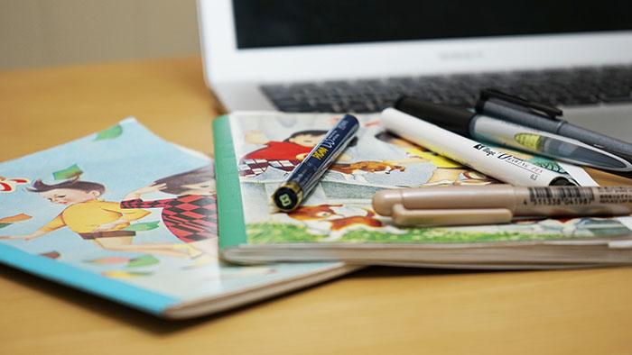 ペン画用ペンおまけ