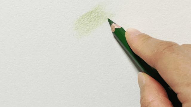 色鉛筆の平塗り