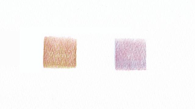 色鉛筆の混色