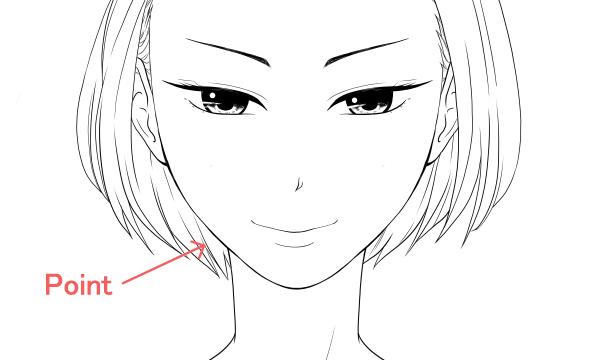 綺麗系な女性の顔ポイント