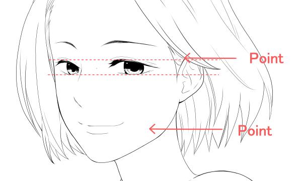 女性の顔 綺麗系 ポイント