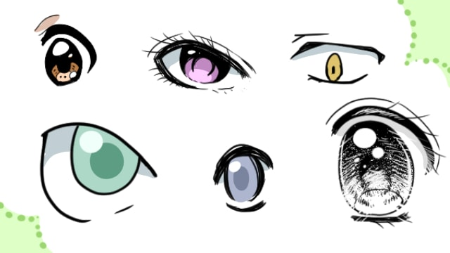 イラストの描き方を知りたい 目はキャラクターの印象を左右する お