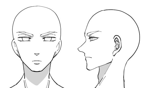 イラストにおける男性の描き方ポイントは骨格と目にありお絵かき図鑑