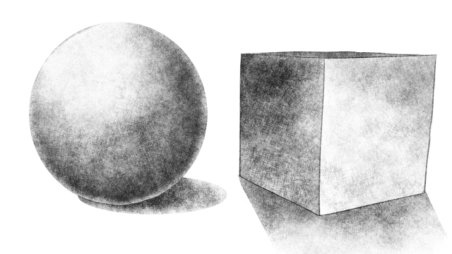 デッサン 単純図形