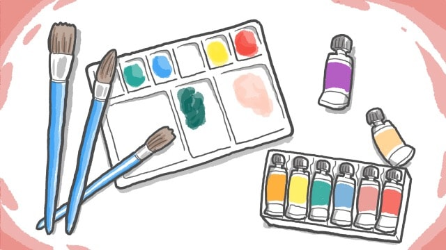 水彩絵の具