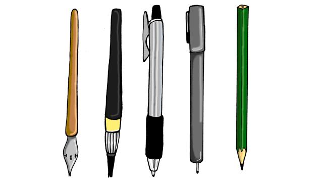 イラストのペン入れがなかなか上手くいかない失敗しないコツを伝授お