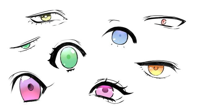 絵の描き方で重要なのは目上手く目を描くポイントを紹介お絵かき図鑑