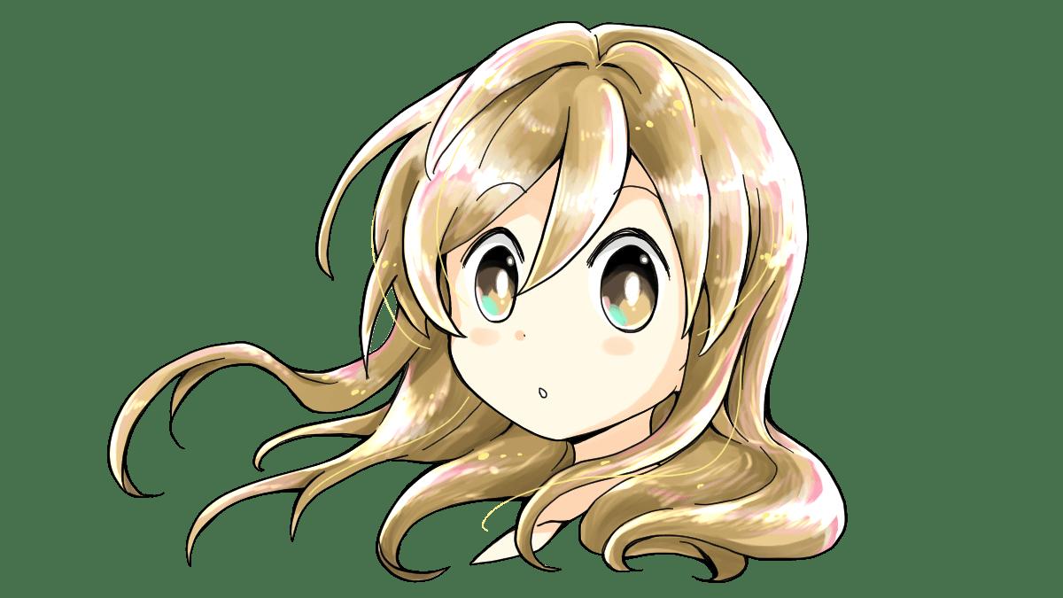 キャラクターイラストで髪を描くポイントはつむじの位置を意識し、髪の毛の流れをつかんで描くこと。また複数のレイヤーで髪の色を重ね、陰影豊かな表現を演出することです。