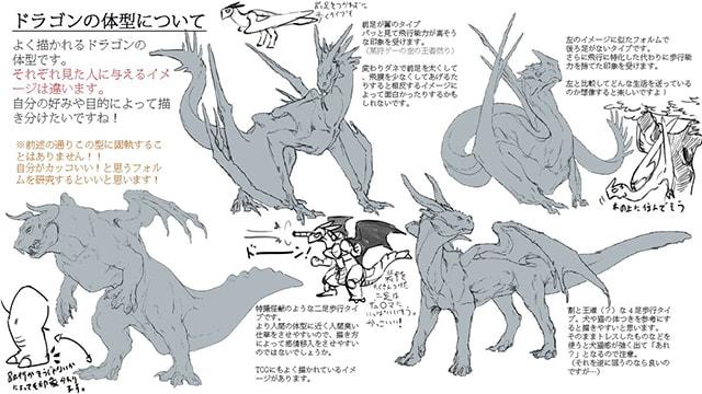 ドラゴン 龍 タイプ かっこいい