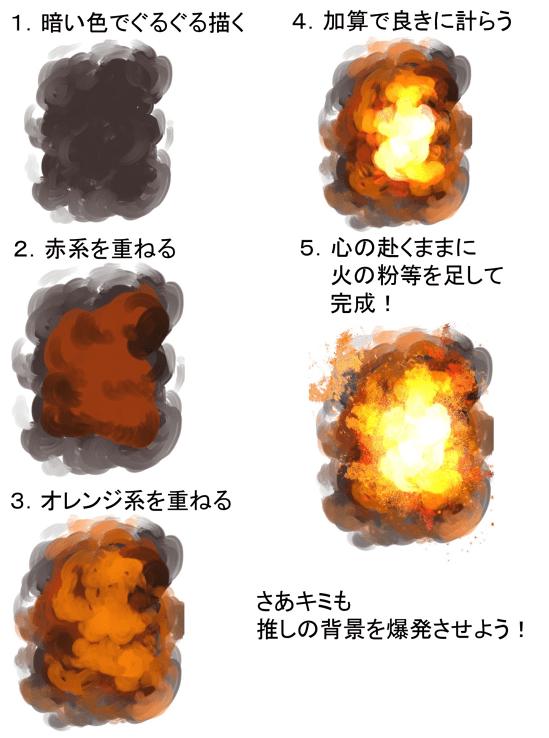 爆炎メイキング