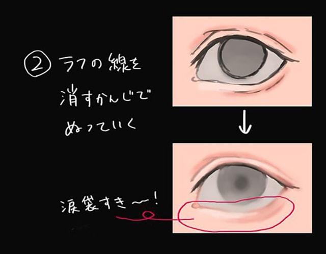 美しい目の塗り方透明感のある目を描こうお絵かき図鑑