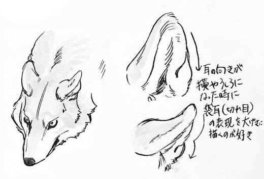 狼の描き方のポイント涼森流をイラストから学ぼうお絵かき図鑑