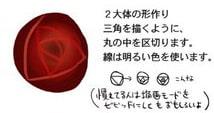 薔薇の描き方メイキング手順2