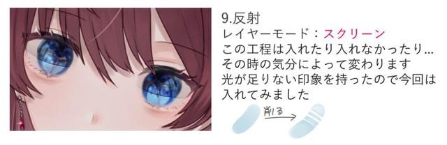 美しい瞳の塗り方9