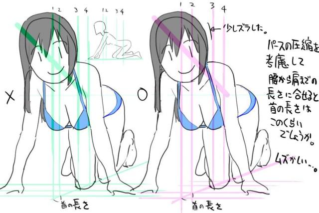アニメーターの体の描き方5