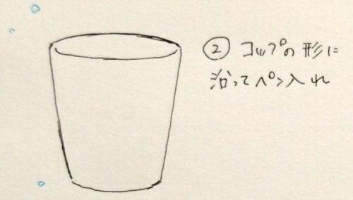 透明グラス2