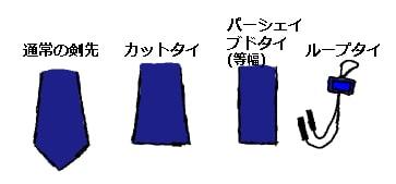 ネクタイの種類4