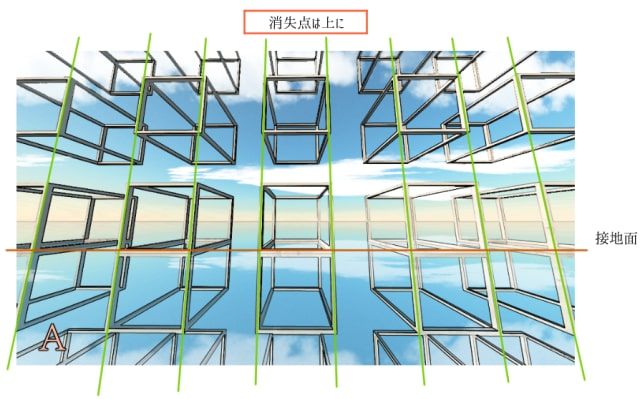 反射の描き方1