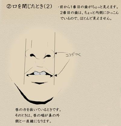 歯と顔のバランスについて5