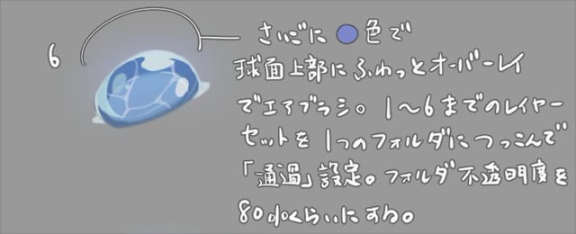 水面の泡6
