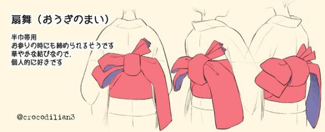 帯の描き方8