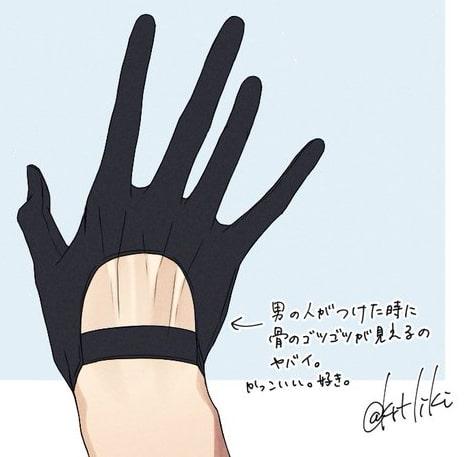 手袋と靴下のデザイン2-2