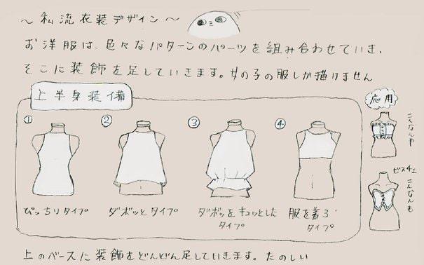 装飾品・衣装デザイン1