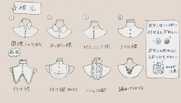 装飾品・衣装デザイン2