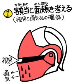 兜の描き方2