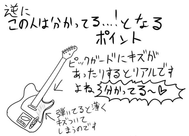 ギターの描き方5