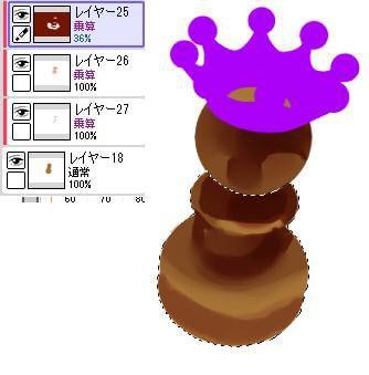チェスピース・ミルククラウンの描き方3