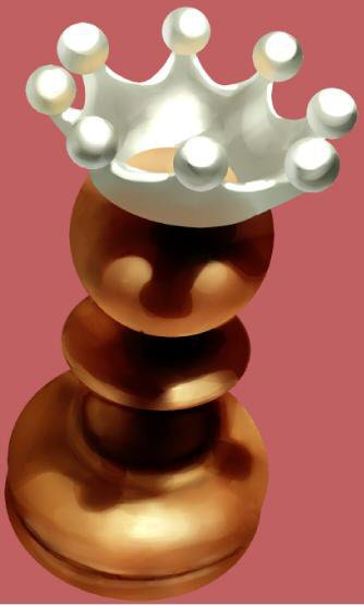 チェスピース・ミルククラウンの描き方7