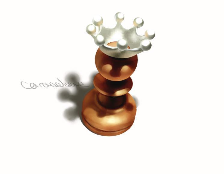 チェスピース・ミルククラウンの描き方8