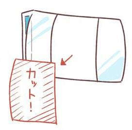 ブックカバーの作り方3