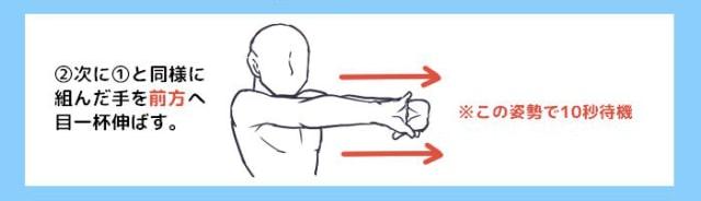肩こりによく効く体操2