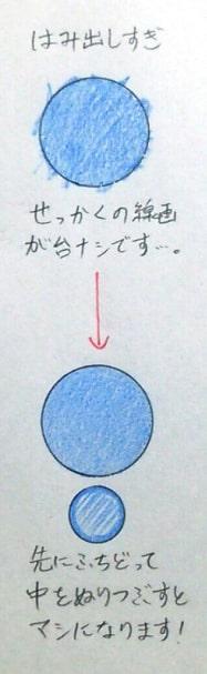 色鉛筆の塗り方2