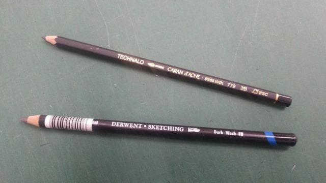 ドローイングにおすすめの水溶性鉛筆3