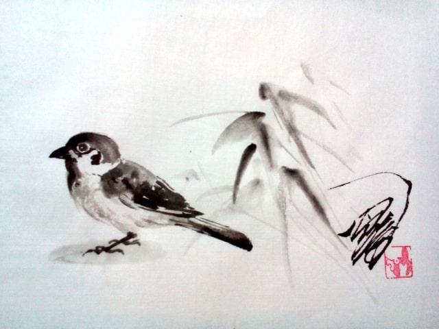 水墨画の描き方4