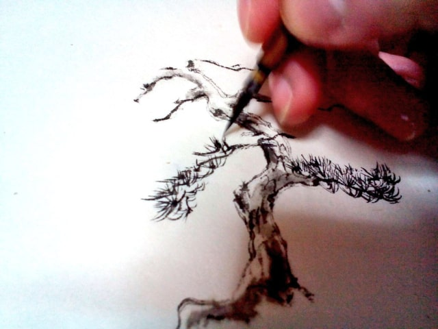水墨画の描き方9