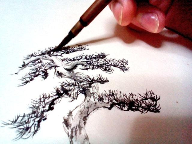 水墨画の描き方10
