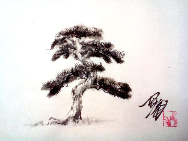 水墨画の描き方11