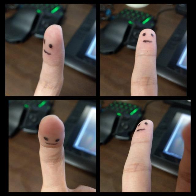 顔の描き方テクニック1