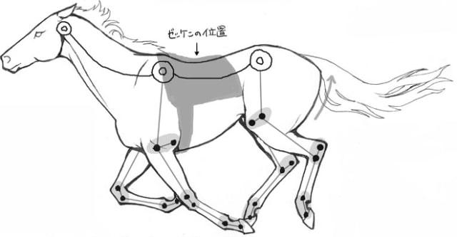 馬の描き方8-1