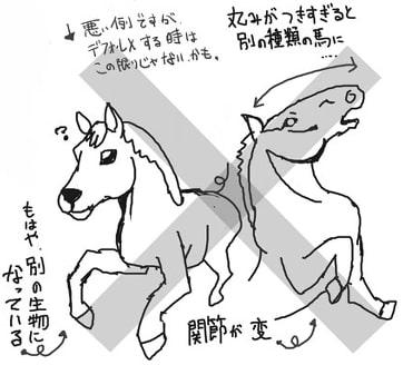 馬の描き方8-2