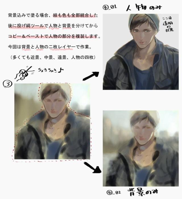 Photoshop厚塗りメイキング6
