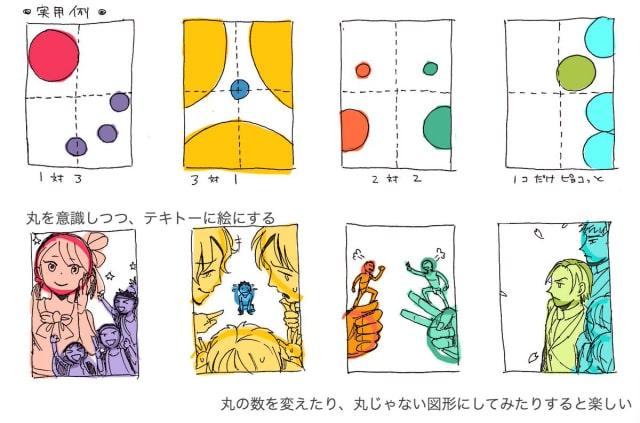 イラストの構図の考え方2