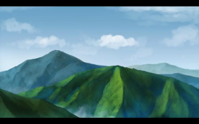 山の描き方22