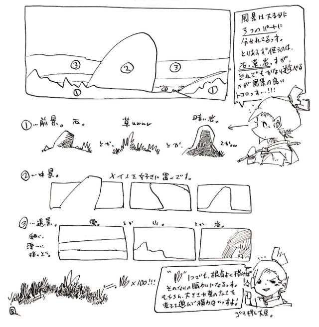 風景画の構図2