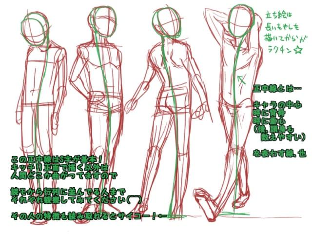 人間の描き方3