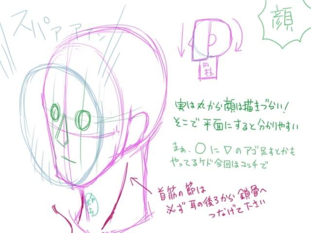 人間の描き方15